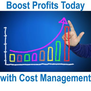 Podcast 1 - 3 Reasons Why Cost Management Can Give You More Profits Faster Than Just Increasing Revenues