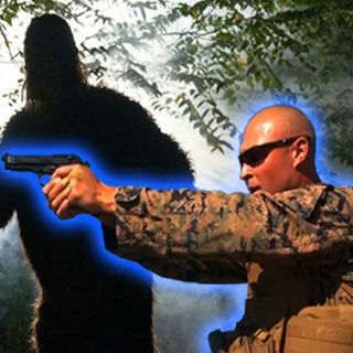 Broadcast Bigfoot Creature Goes On The Prowl And Targets A Marine