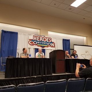 Legends of the Panel Podcast: Heroes Con 2016 Full Interview Show