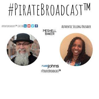 Catch Meshell Baker on the #PirateBroadcast™