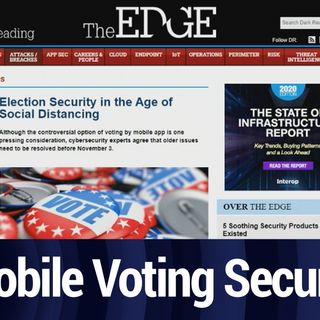 Secure Voting While Social Distancing | TWiT Bits