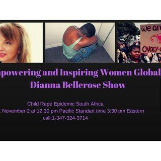 Empowering and Inspiring Women Globally- Child Rape Epidemic