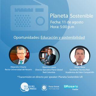 Oportunidades: Educación y sostenibilidad