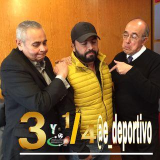 Siempre son las tres y cuarto en Espacio Deportivo de la Tarde 12 de Diciembre 2018