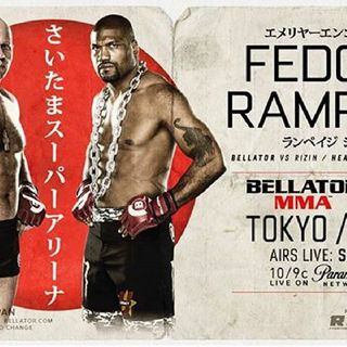 Preview Of Bellator/Rizin Card Headlined By Fedor-Rampage Jackson!!In Japan!!! Live On DaznUSA And Sky Sport's And Paramount Channel! Enjoy