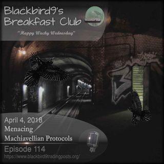 Menacing Machiavellian Protocols - Blackbird9 Podcast