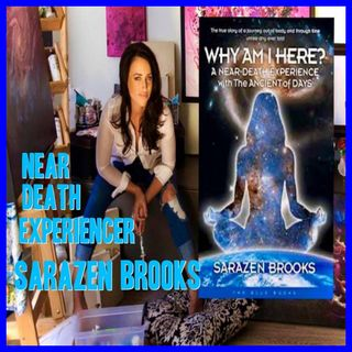 Near Death Experience with author Sarazen Brooks