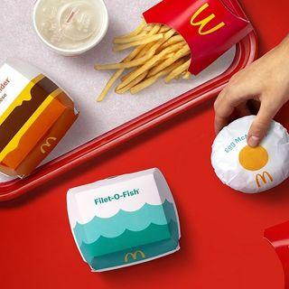 McDonald's idea nuovi packaging per dare gioia