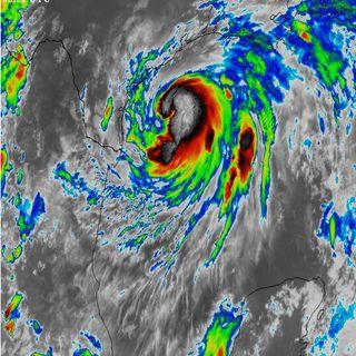 Hanna, huracán categoría 1, provocará lluvias torrenciales en Tamaulipas y NL