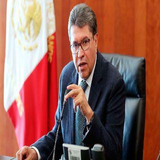 Congreso da marcha atrás a reformas del pacto por México: Ricardo Monreal