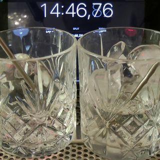 Ice: Dilution vs temperature.