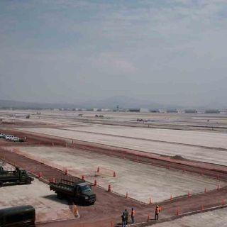 Construcción del Aeropuerto Internacional Felipe Ángeles va en tiempo