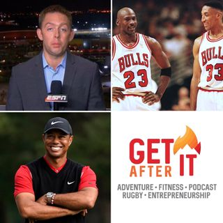Episode 109 - with Wayne Drehs - ESPN journalist discussing The Last Dance, Tiger, Phelps, Pele and much much more.