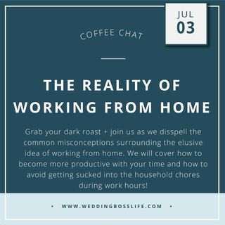The Reality of Working from Home as a Creative Entrepreneur
