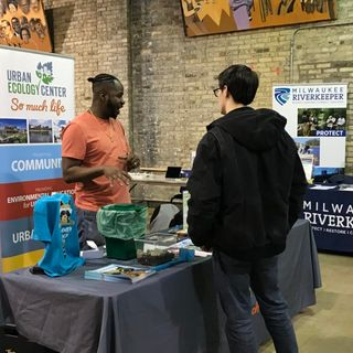 This job fair introduces environmental organizations to Milwaukee youth
