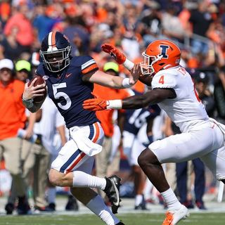 #169 Illinois football vs Virginia, Week 2 CFB with Coach West and Brad Miller
