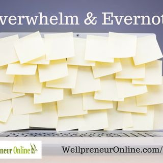 {e67} Overwhelm and the beauty of Evernote