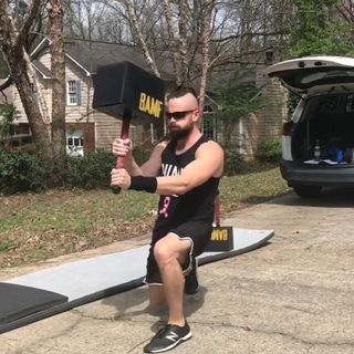 Core and Functional training with the BAMF Hammer