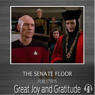 15 - Great Joy and Gratitude