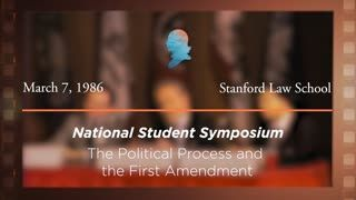 Panel I: The Political Process and the First Amendment [Archive Collection]