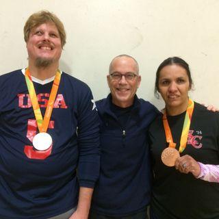 The Olympic Show: Paralympian in Goalball  Joseph Hamilton