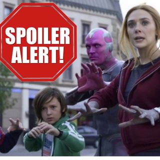 WandaVision Spiderman & Dr Strange (ties)