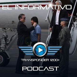 Así arribó Evo Morales a México a bordo del Gulfstream G550 de la FAM