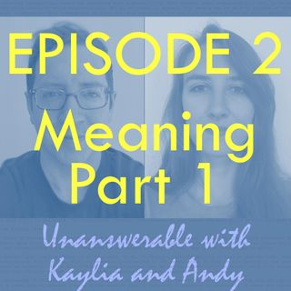 Ep 2 - What makes life meaningful? (Part 1)