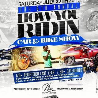 How Ya Ridin Tv/DVD Car Show Part Two