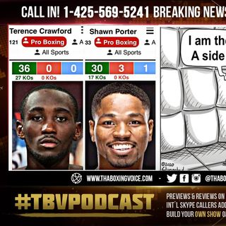 ☎️Shawn Porter to Arum 🤬F%#K A Million Dollars 💵I'm Not Fighting Terence Crawford Don't LOW BALL ME
