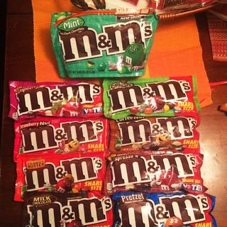 The Ongoing M&M Candy Saga
