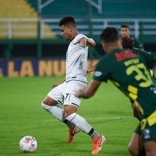 Gol de Talleres: Néstor Breitenbruch e/c  1-1
