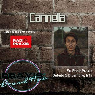 Cannella ospite di Praxis:BrandNew