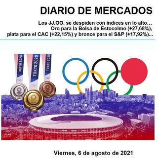 DIARIO DE MERCADOS Viernes 6 Agosto