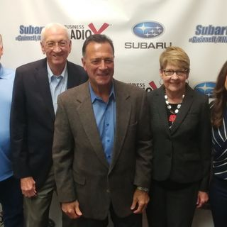 Bob & Lyn Turknett and Tino Mantella with Turknett Leadership Group