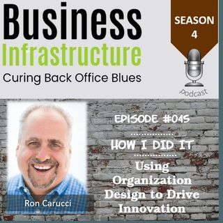Episode 45: Using Organization Design to Drive Innovation with Ron Carucci