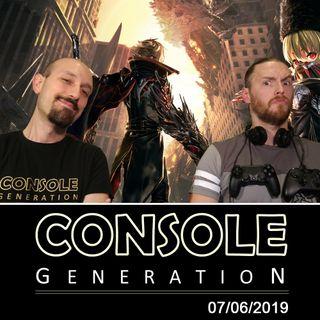 Verso l'E3 2019 / Code Vein / Google Stadia - CG Live 07/06/2019