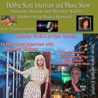 Interview with Heather Whitney & Happy Birthday Tbone Edward !!  7-16-18