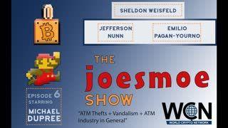 The Joesmoe Show # 6 ATM Thefts + Vandalism + ATM Industry in General