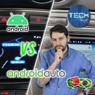 Radio Android vs Android Auto