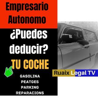 Gastos Deducibles Coche Autonomos | Deducir vehiculo | Gastos deducibles Empresarios | Abogado