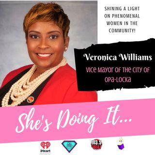 ShesDoingIt: Vice Mayor Veronica Williams... How Many Hats Does She Wear???