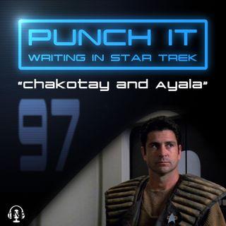 Punch It 97 - Chakotay and Ayala