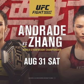 UFC Fight Night: Andrade vs. Zhang Commentary