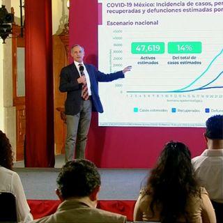 México llega a los 304 mil contagios de Covid-19