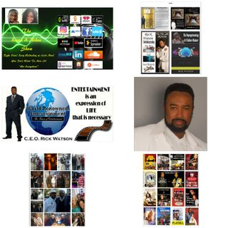 The Kevin & Nikee Show  - Celebrating Men - Rick Watson - Hit Stage Play Maker, Playwright,  Filmmaker, Motivational Speaker and Director