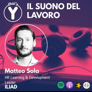 """""""Il Suono del Lavoro"""" con Matteo Sola ILIAD"""