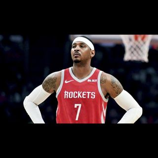 Carmelo Anthony will not be returning to the Houston Rockets
