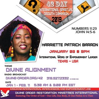 Let The Spirit Lead You - Min. Harriette Patrick Barron |42 Days Divine Alignment