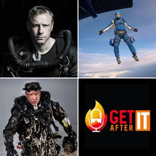 Episode 118 - with Andy Torbet - Underwater explorer, skydiver, stuntman and TV presenter.